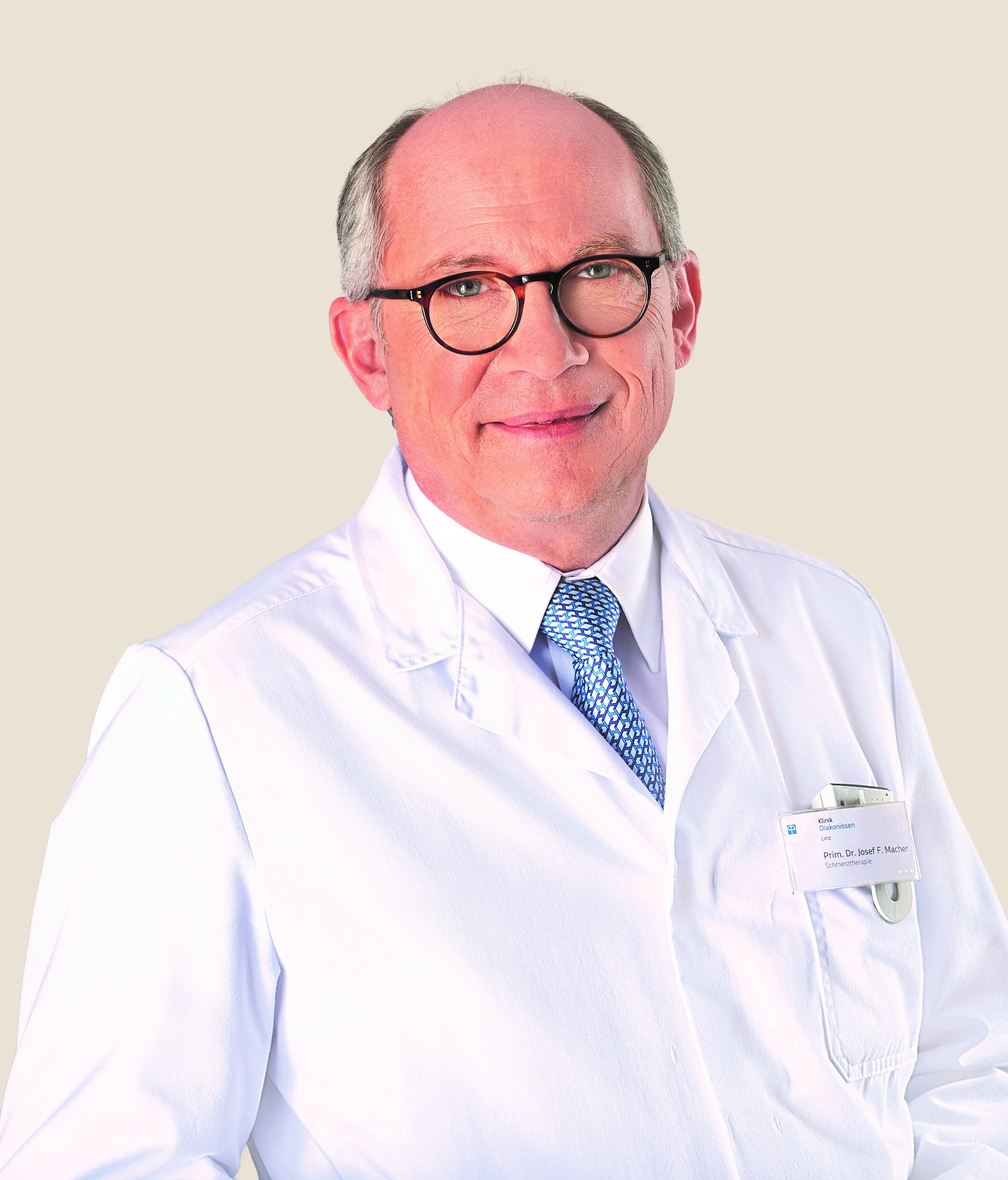 Prim. Dr. Josef Macher, Mitglied im wissenschaftlich-kulturellen Beirat von ISCO