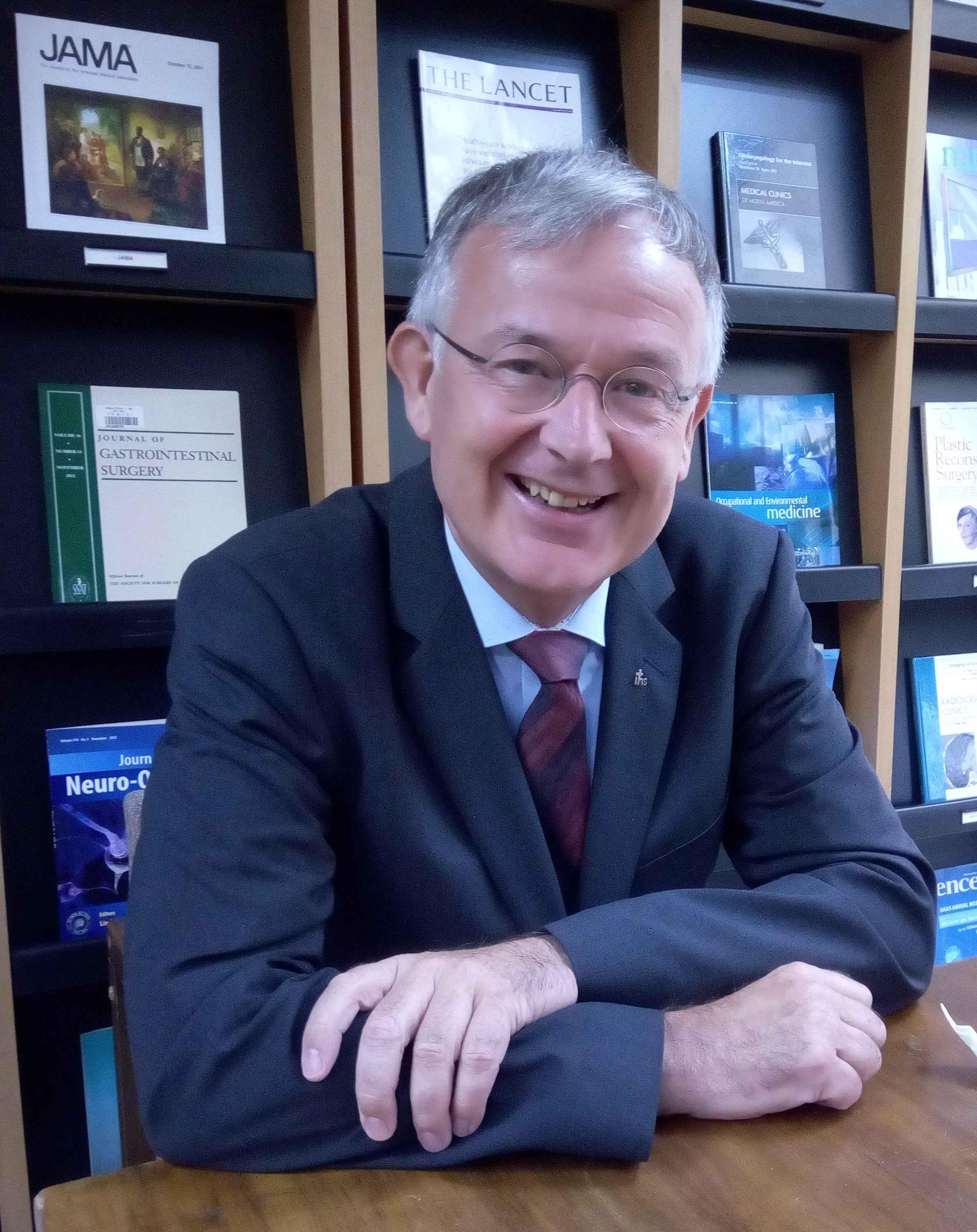 Prof. Dr. Eckhard Frick, sj,, Mitglied im wissenschaftlich-kulturellen Beirat von ISCO
