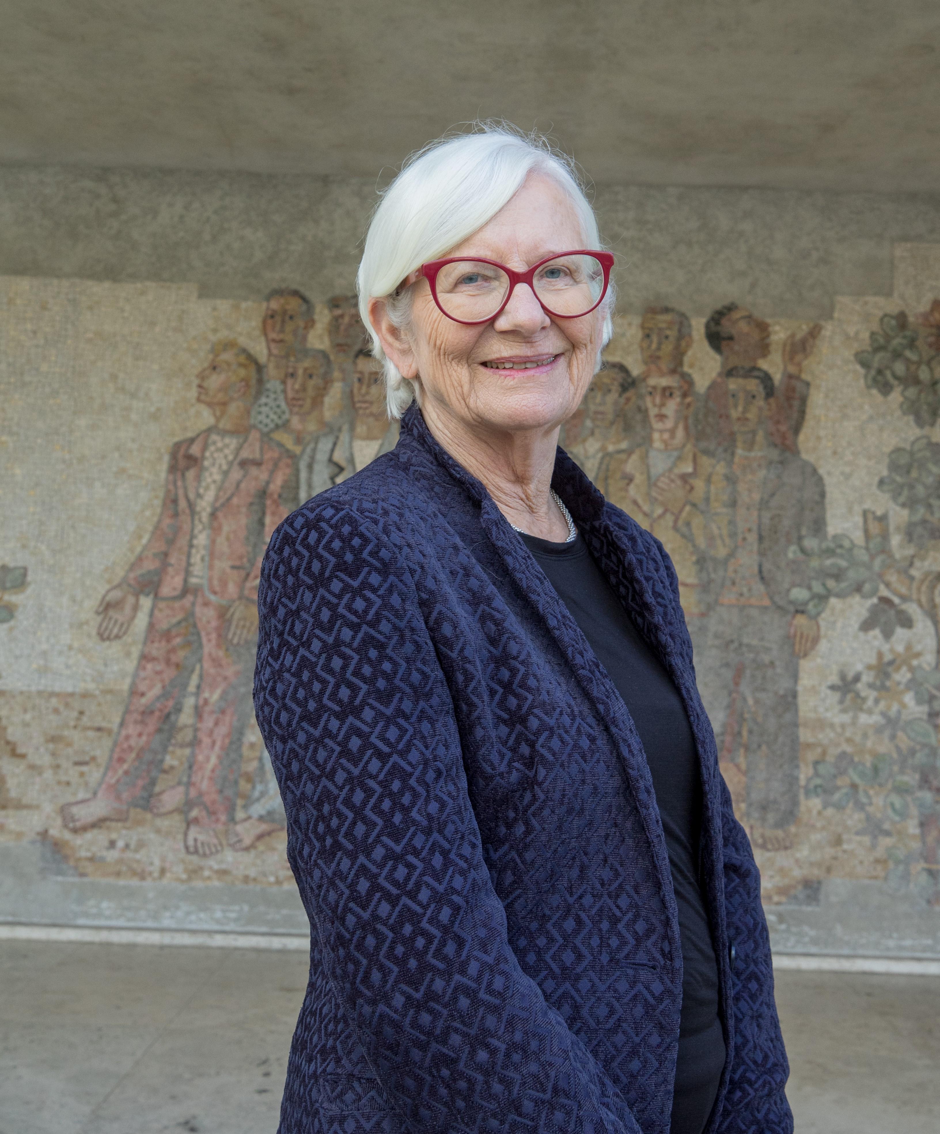 Portraitfoto Pfr.in Dr.in Christa Gäbler