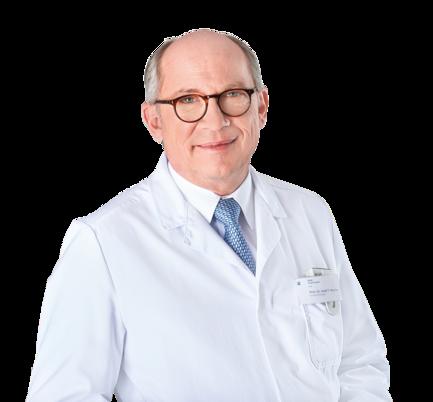 Prim. Dr. Josef Macher - Leiter Klinik Diakonissen Linz